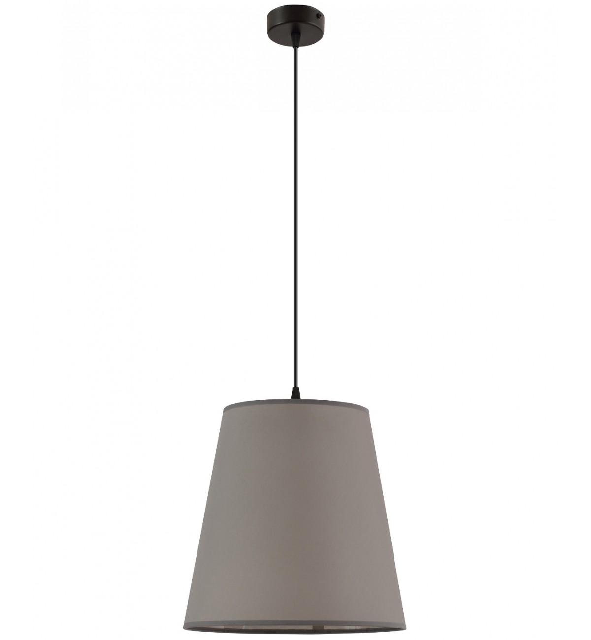lampa klasyczna z abazurem wiszaca stylowa