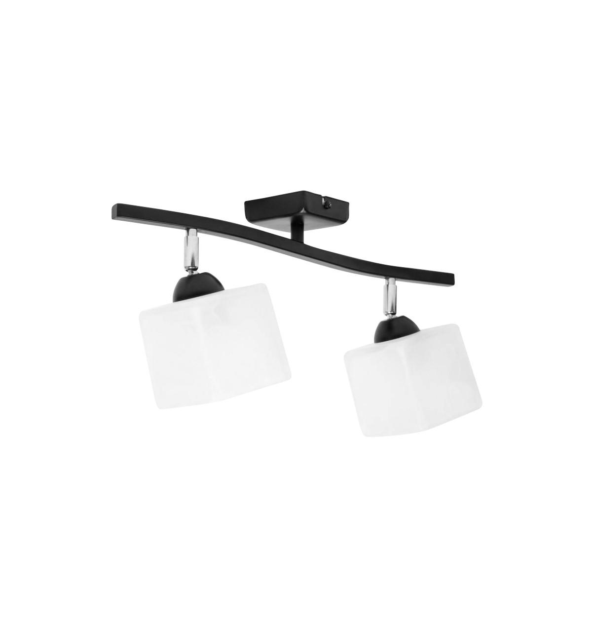 lampa plafon sufitowa 2 plomienna glass 2