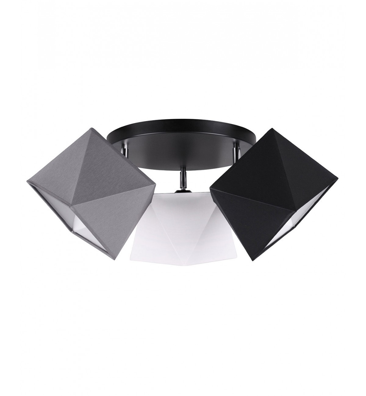 lampa sufitowa plafon abazury diament