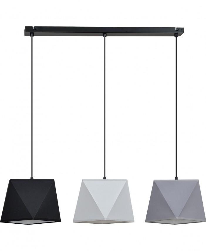 lampa wiszaca 3 plomienna diament 1