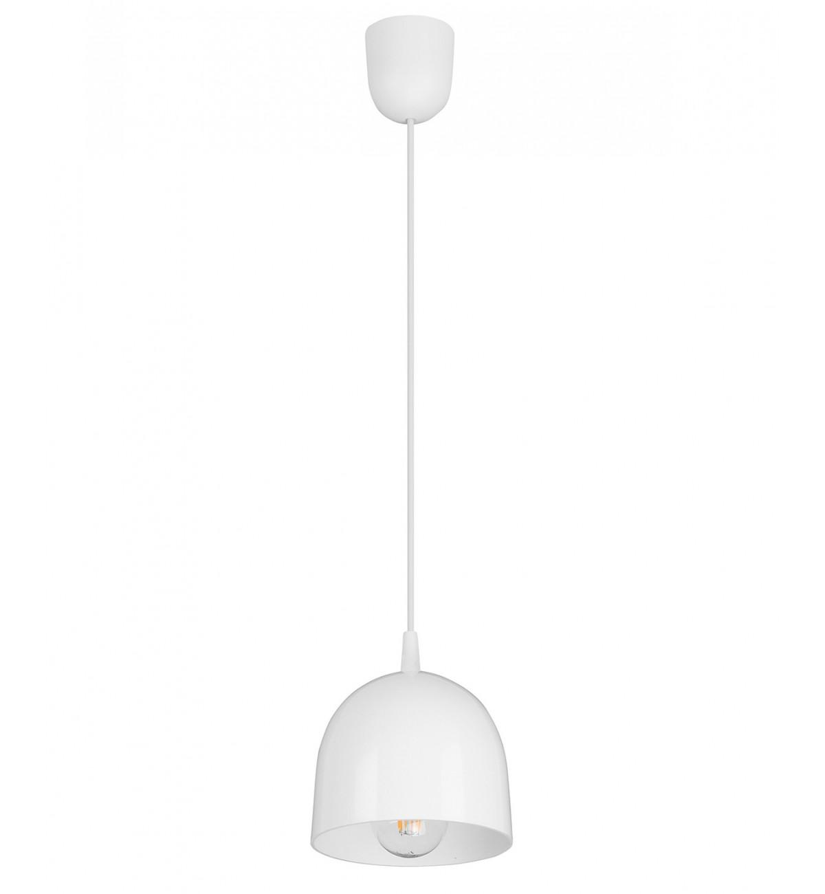 lampa wiszaca regulowana biala klasyczna