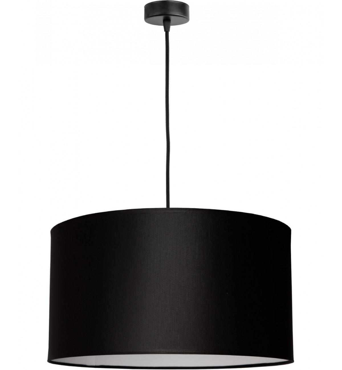 lampa wiszaca z abazurem material sufitowa nowoczesna