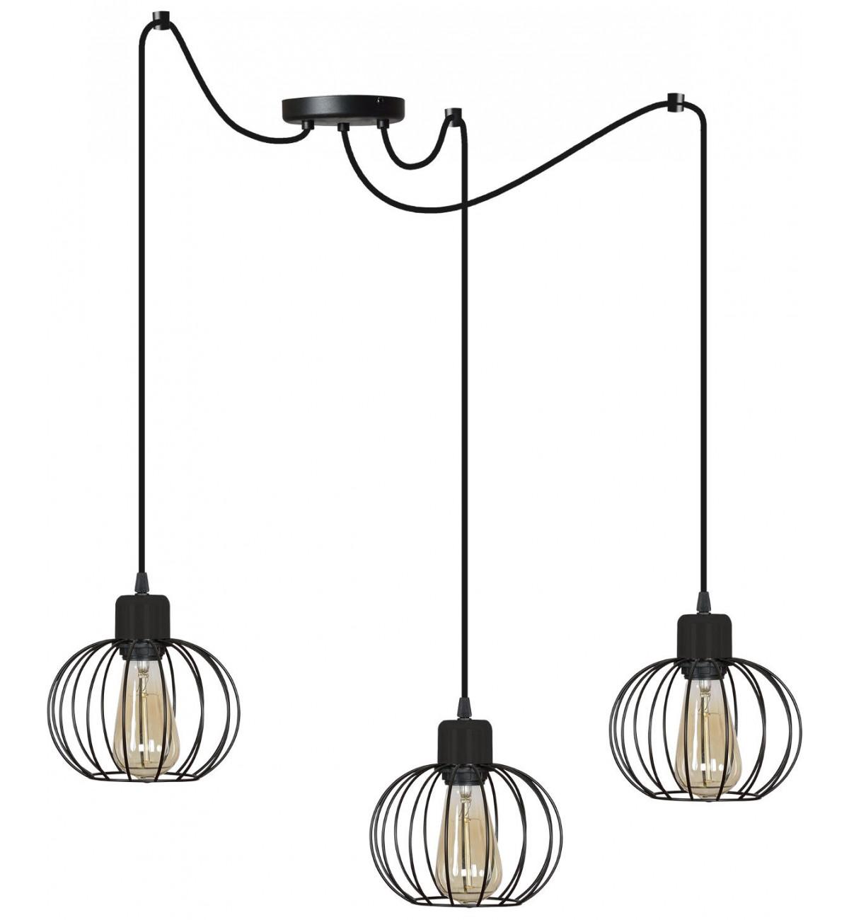 nowoczesna lampa wiszaca wiele kolorow regulowana 1