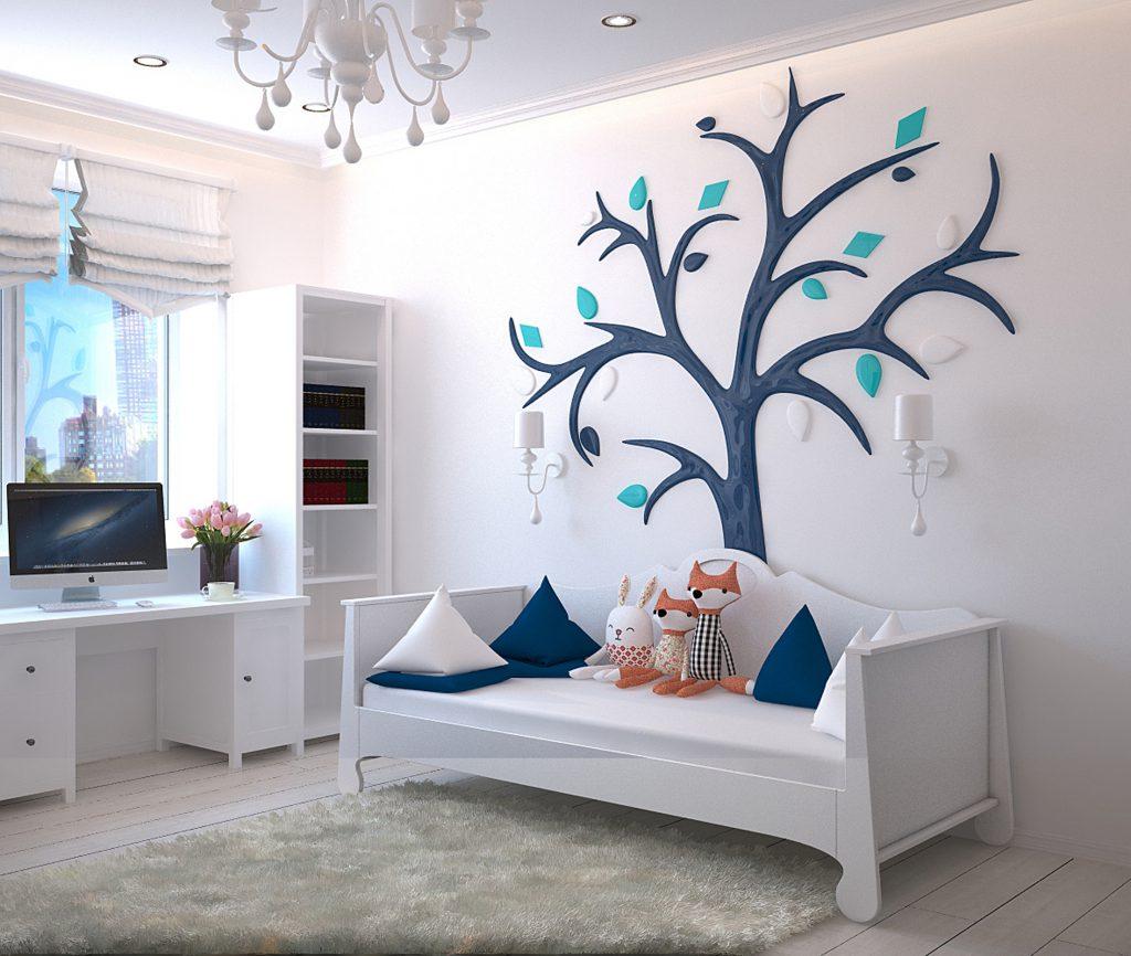 kolorowe lampy do pokoju dla dziecka