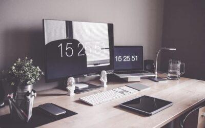 5 pomysłów na prawidłowe oświetlenie domowego biura